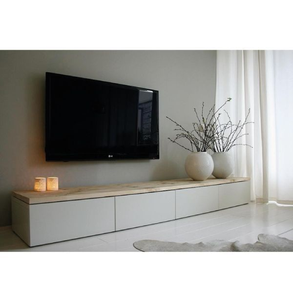 M s de 25 ideas incre bles sobre estanter as de tv en for Hacer mueble salon moderno