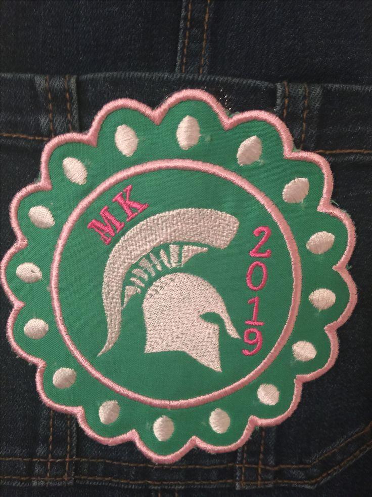Spartan Monogrammed Stratford High School