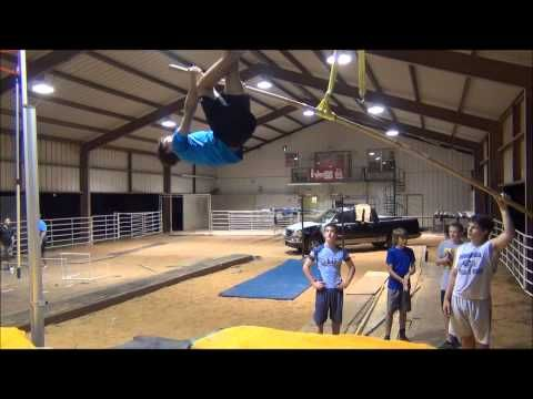 October Core and Drill Training - Zero G Elite Pole Vault Club - YouTube