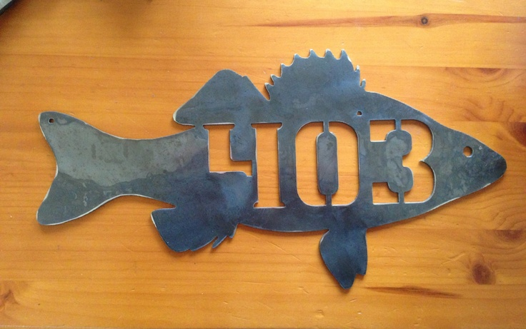 Bass Fish House numbers