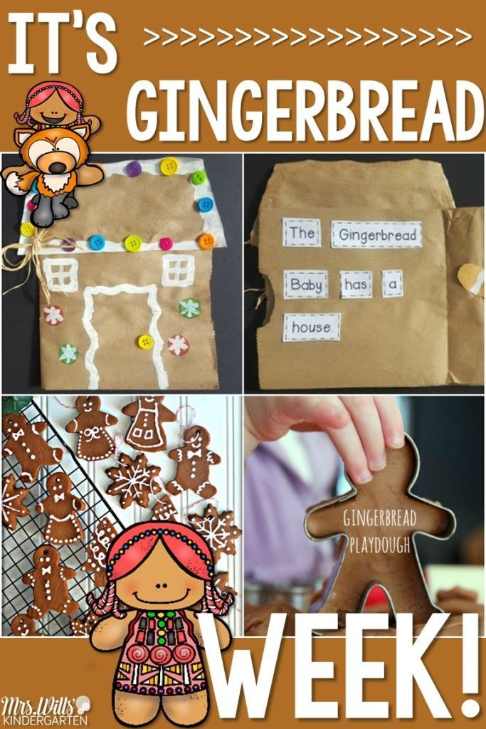 Check out these kindergarten gingerbread activities and themes, perfect for your students just before the holidays! Math, Literacy, Fine Motor, and Crafts for kids!