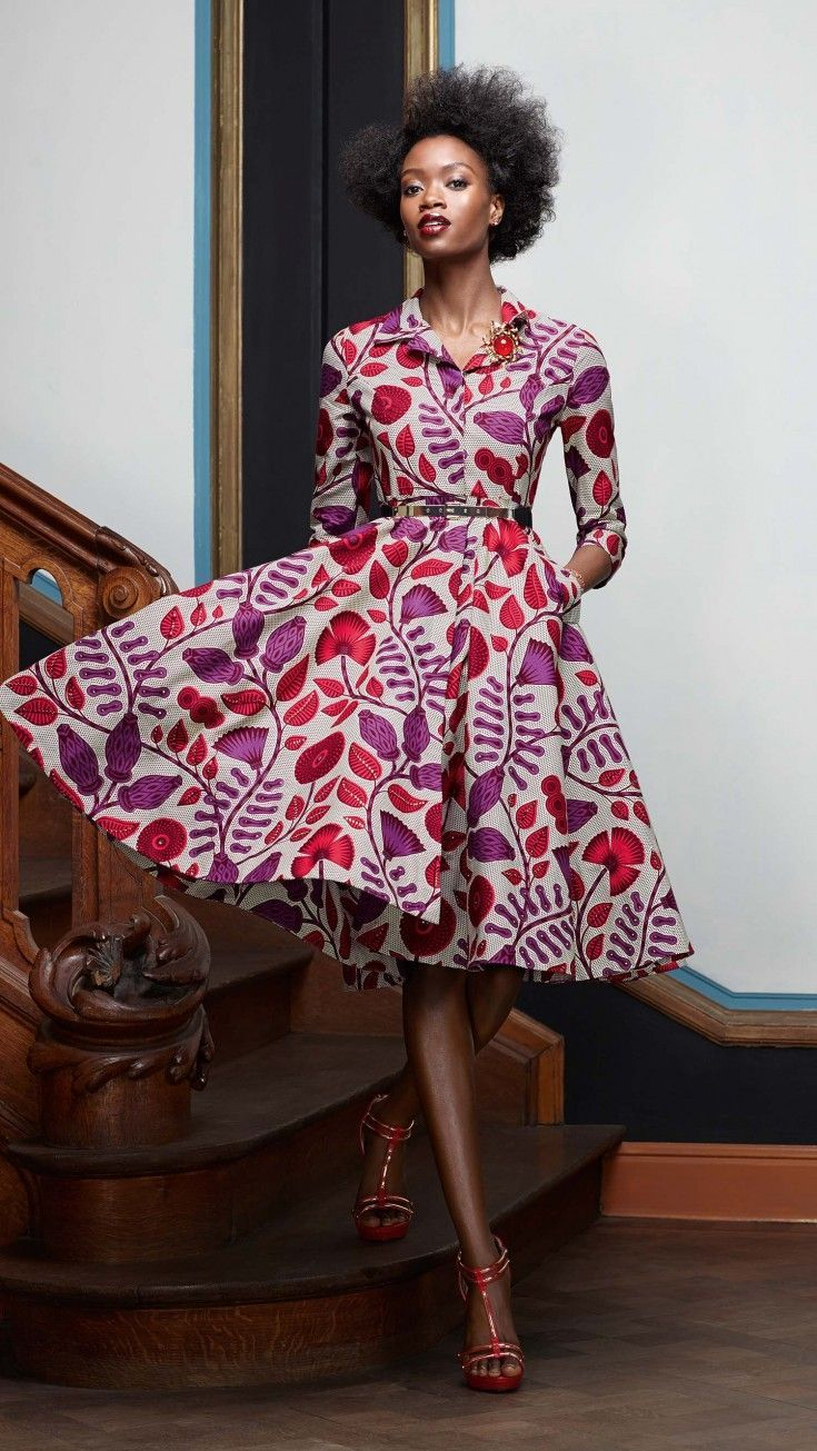 NEW COLLECTION: 'Splendeur' by Vlisco - Akatasia | Inspired By All Things African :: African Inspirations :: African Diaspora