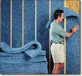 Ssp Cotton Fiber Insulation 3 5 Thick R 13 16 Home