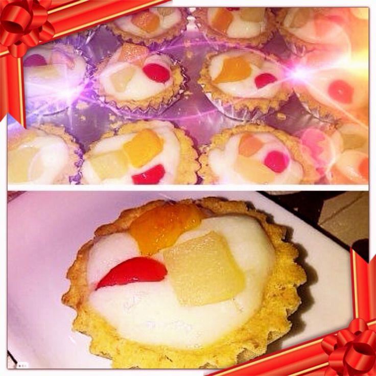 Dessert, pie buah ala Pipi