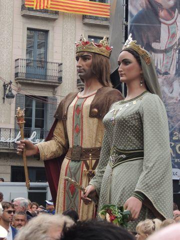 Gegants Barcelona a la Mercè 2013