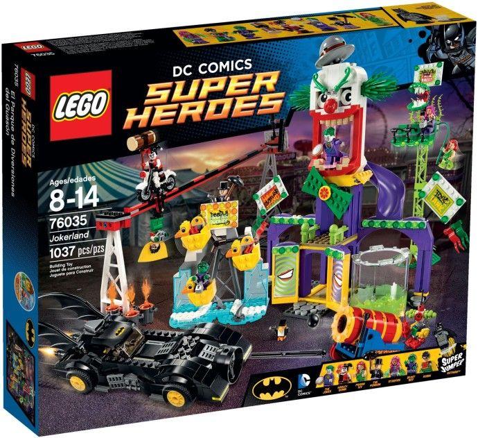Comparez les prix du LEGO DC Comics Super Heroes 76035 Jokerland avant de l'acheter ! Infos, description, images, vidéos et notices du LEGO 76035 Jokerland sur Avenue de la brique