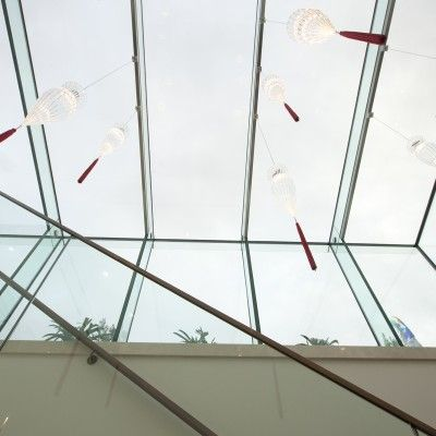 2/8 Example of a Glass Beam Supported Glass Rooflight.