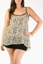 Plus Size Tops - Trendy and stylish tops for the curvy style.   G-Stage Clothing − G-Stage