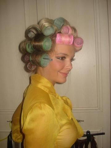 roller set hair styles 1013 best hair and images on rollers in 1013