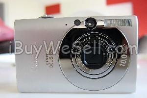 Canon kamera IXUS 85IS, Komplett i låda med alla tillbehör så som datasladd, läder rem för handled, hölje i läder mm. Alla tillbehör är helt nya och således inpackade i plast.  Check out more #cameras for sale on http://www.ibuywesell.com/en_SE/category/Cameras/396/  #Canon #digitalcamera #usedcamera