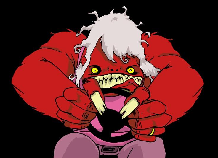 Mamá trasformada en Monstruo.