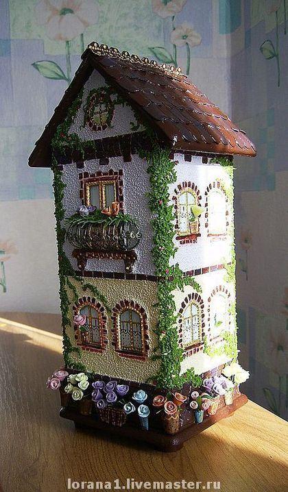 """Кухня ручной работы. Ярмарка Мастеров - ручная работа Чайный домик  """" Домик цветочницы"""". Handmade."""