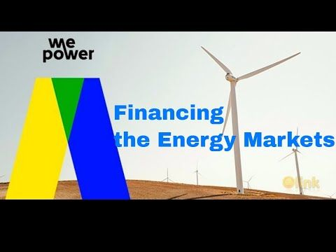 WePower Disrupting the Energy Market ! BlockChain and Energy!  WePower enables renewable energy producers to raise capital by issuing their own energy tokens. These tokens represent energy they commit to produce and deliver. Energy tokenization standardizes simplifies and opens globally currently existing energy investment ecosystem. As a result energy producers can trade directly with the green energy buyers (consumers and investors) and raise capital by selling energy upfront at below…