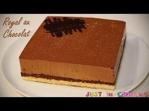 Recette Gateau au Chocolat Royal ou Easy Trianon: biscuit, mousse au chocolat, pral …   – CUISINE