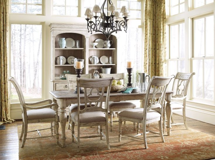 Kincaid Weatherford Canterbury Rectangular Dining Table Set in Cornsilk  Finish   All Dining Sets   Dining Sets by Dining Rooms Outlet42 best Tables images on Pinterest   Kincaid furniture  Solid wood  . Kincaid Stonewater Tall Dining Table. Home Design Ideas