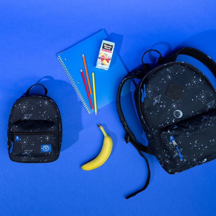 Parkland Kid's Bayside Backpack and Rodeo Lunch Kit in Space Dreams