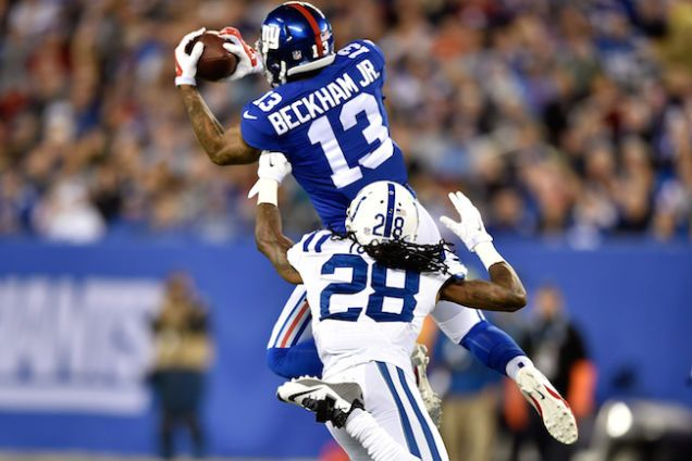 Odell Beckham Jr. Is Flourishing amid a disappointing Giants Season.