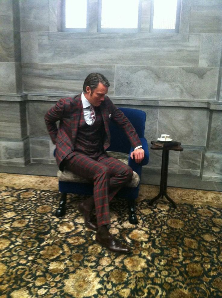 marthadelaurentiis: The thinker. THE MAN. #HANNIBAL