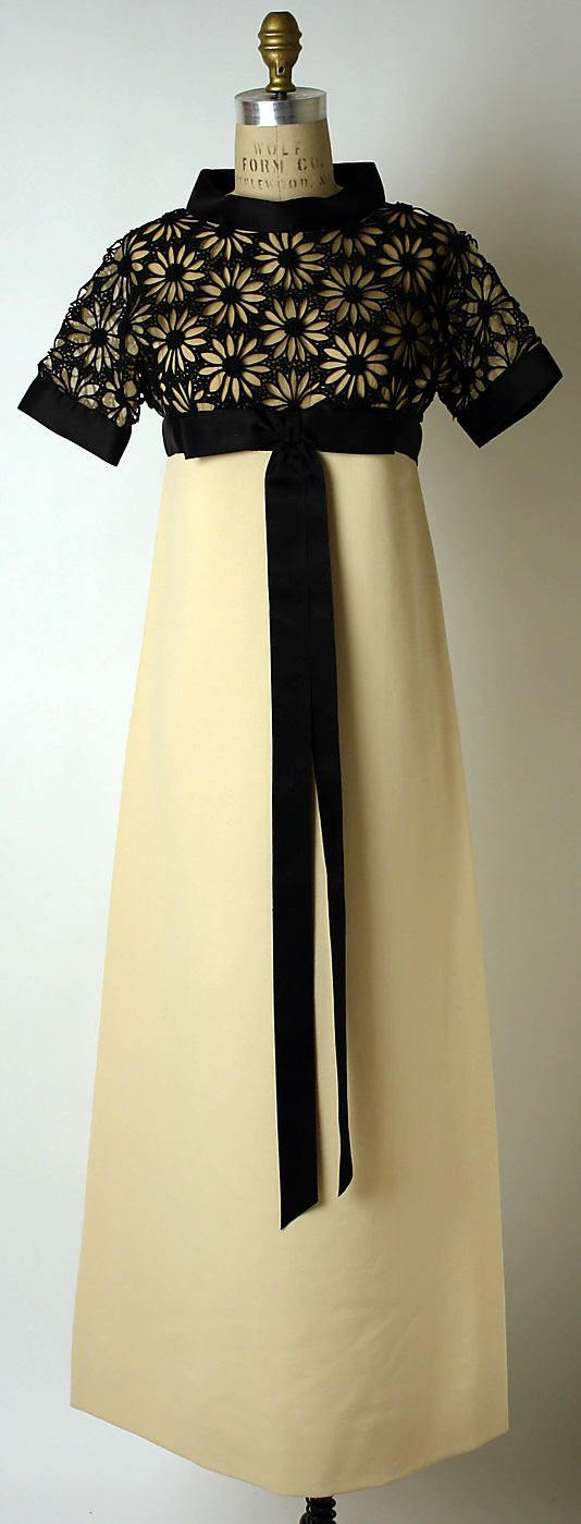 Pierre Cardin  (French, born 1922) Date: fall/winter 1967–68 Culture: French Medium: wool, silk, cotton