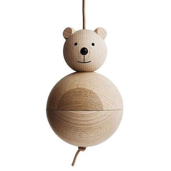 The OYOY Bear has been hanging around since 2012. Designer and company founder, Lotte Fynboe has drawn on a robust legacy of Scandinavian children's toys.