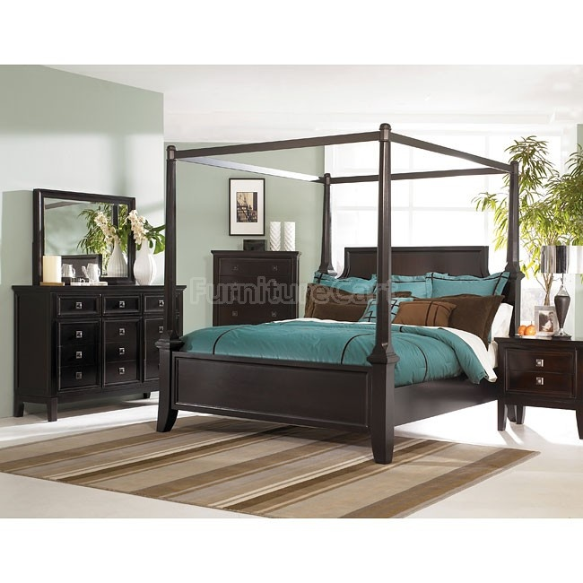 Martini Suite Canopy Bedroom Set