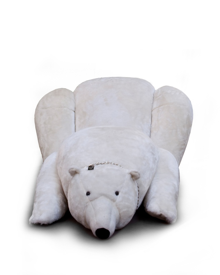 Visionnaire online shop - Bear chaise longue, white colour