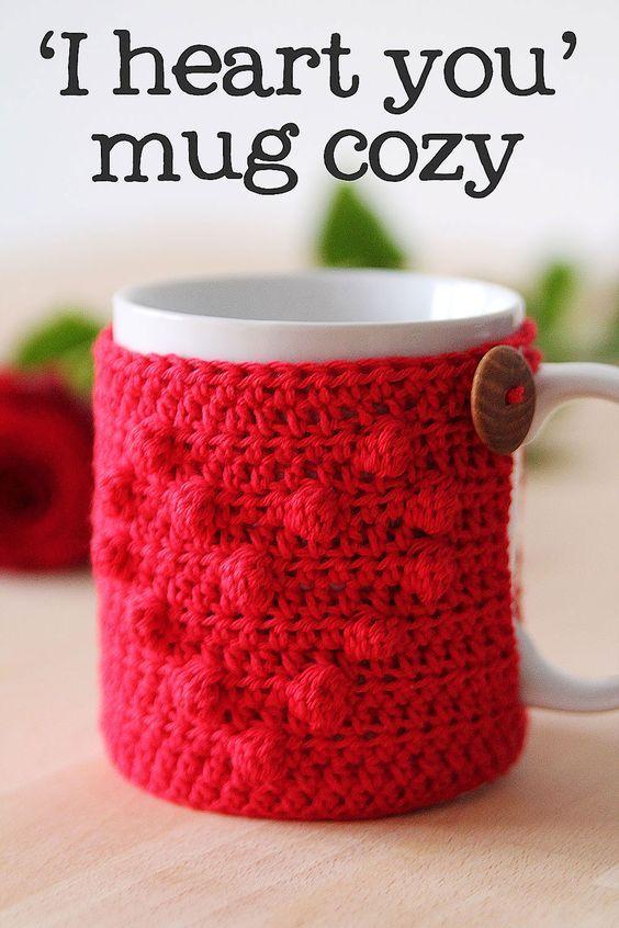 57 mejores imágenes de Cubre tazas en Pinterest | Ganchillo libre ...