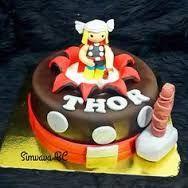 Image result for thor fondant cake