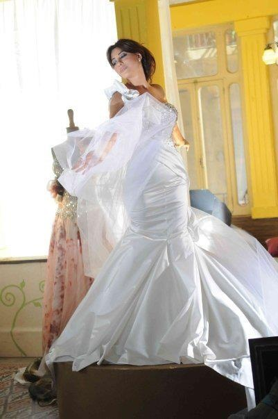 Najwa Karam by TONY YAACOUB #fashion #dress #design #celebrities #lebanon #lebanese #gown #wedding