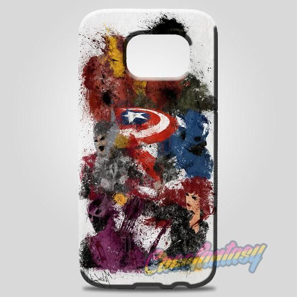 The Avenger Painting Samsung Galaxy Note 8 Case | casefantasy