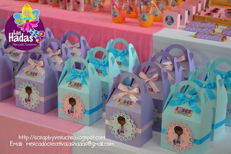Doc Mcstuffins Party Favor bags