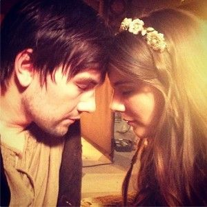 Torrance Coombs (Bash) and Caitlin Stasey (Kenna). I'd totally ship them! <3 YES PLEASE