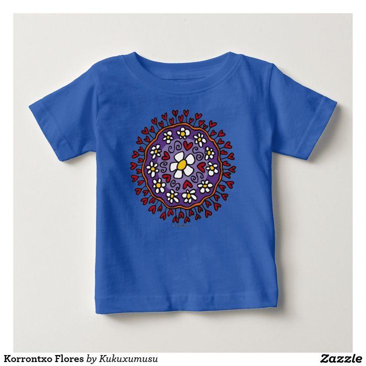 Korrontxo Flores. Regalos, Gifts. #camiseta #tshirt