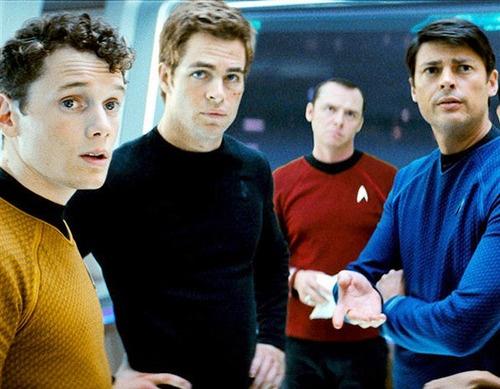 Star Trek Chris Pine Anton Yelchin
