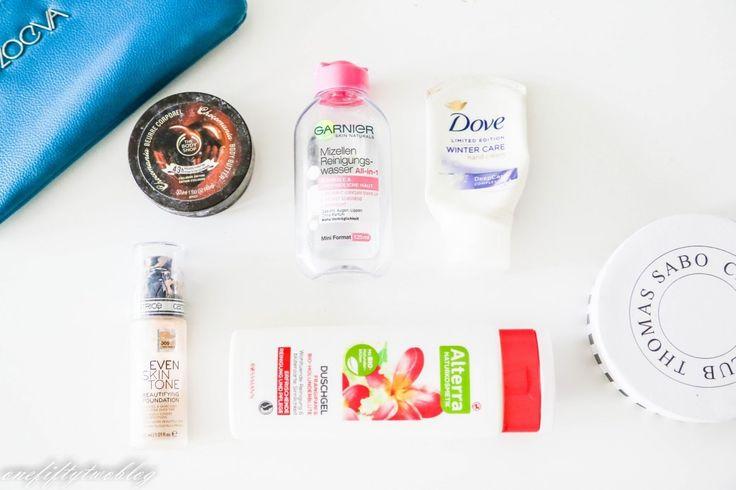 Aufgebraucht, Makeup, Body Shop Body Butter, Alverde, Mizellenwasser