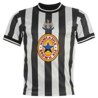 Score Draw Newcastle United 1998 Retro Football Shirt Mens