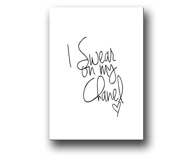 Ash 'n Chang: Swear. Swear on my Chanel!