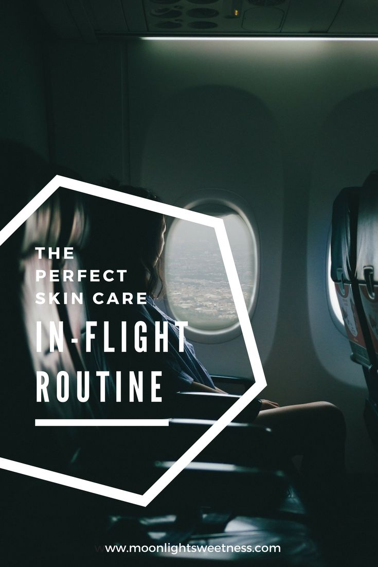 The perfect skin care in-flight routine to salvage your skin at 40,000 ft. What to use on long-haul flights and keep a radiant look.