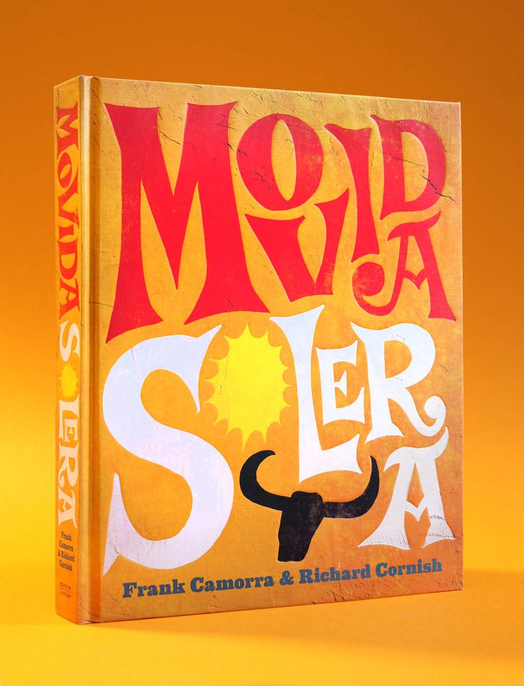 Movida Solera – Frank Camorra and Richard Cornish / Designed by Daniel New / Photography by Alan Benson / Penguin / Lantern / Cookbook / Book Design / Cover
