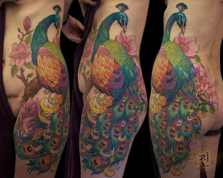 Rapper Cardi B Peacock Tattoo: 73 Best Body ART Images On Pinterest