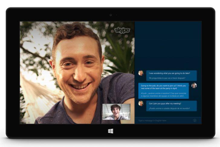 #Skype Translator ofrecerá traducciones en voz y texto