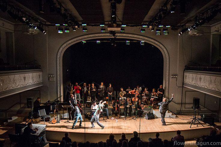 William Parker's Tone Motion Theatre. All photos by flowersinagun.com