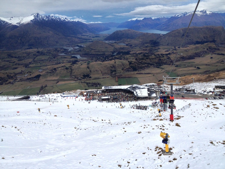 Coronet Peak on opening day June 8th 2013