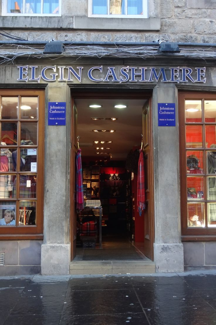 Can you really find quality Scottish cashmere at the touristy shops on Edinburgh's royal mile? Read our travel souvenir tips on buying cashmere in Scotland.