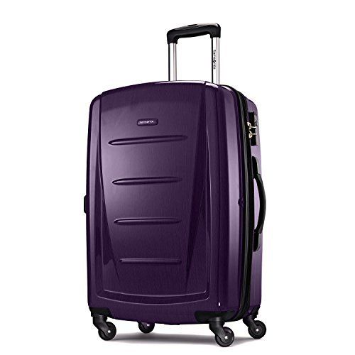 New Trending Luggage: Samsonite One Size Winfield 2 Fashion Spinner - Purple. Samsonite One Size Winfield 2 Fashion Spinner – Purple  Special Offer: $99.00  400 Reviews Pack clothing and other essentials for an overnight trip or a weekend getaway inside this stylish hard sided spinner case from Samsonite. The Samsonite Winfield 2 fashion HS spinner 24 is...