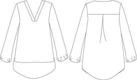 Le patron Basic Two est téléchargeable au format PDF, et à imprimer au format A4 (patron tracé à la main). Marges de couture non-incluses. Plus d'informations et détails dans cet article ici. Tailles (stature [...]