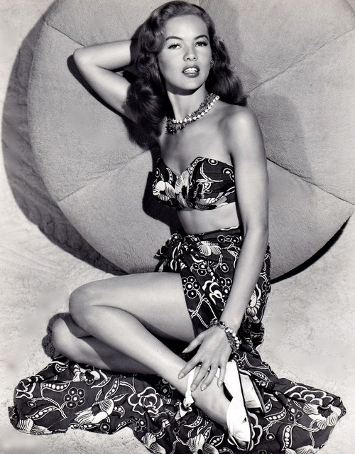 """Dona Drake (November 15, 1914 – June 20, 1989) was an American singer, dancer and film actress in the 1930s and 1940s. She was born Eunice Westmoreland in Miami, Florida, in 1914. She entered show business in the 1930s. Because of her dark hair and Latin-looking features, Drake generally played Latin or other """"ethnic"""" types. She is perhaps best known for playing the American Indian maid of Bette Davis in Beyond the Forest. She also appeared as an Arab girl opposite Bob Hope in Road to…"""