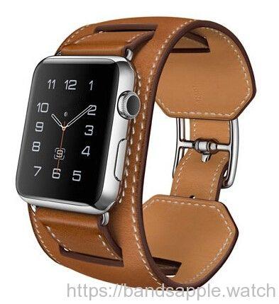 Original quality Genuine Leather Cuff Bracelet Leather Watchband for Apple Watch cuff 38/ 42mm //Price: $59.58 & FREE Shipping //     #watchband #strap #bracelet #nike #sport #rubber #fluoroelatromer #applewatch #applewatchsport #applewatchband