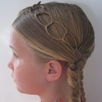 Tons of Kid hair styles! (Pocahontas Braids & Chains (6)