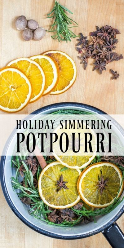 Homemade Holiday Simmering Potpourri | Start a family tradition by simmering this all natural and fresh potpourri in your home. Package and give as the perfect homemade gift. #Sponsored